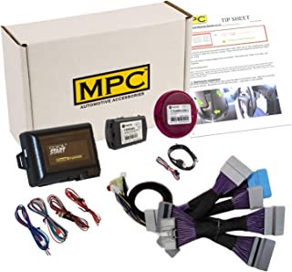 MPC Complete Plug-n-Play Factory Remote Activated Remote Start Kit for 2017-2018 Honda CR-V - Includes Software Loader