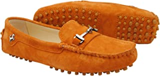 Miyooark Womens Comfortable Slip-on Suede Driving Shoes Loafers Moccasin