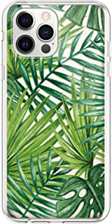 Compatibel met iPhone 12 Pro Max, transparante siliconen TPU telefoonhoes, kristalhelder, doorzichtig, beschermhoes met bl...