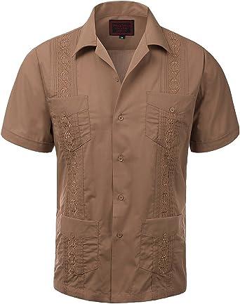 Guayabera - Camiseta de manga corta para hombre, diseño de ...
