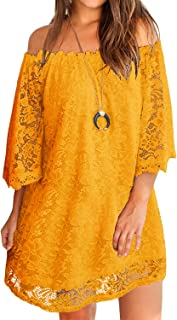 mustard yellow cold shoulder dress