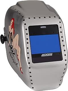 Jackson Safety HSL 100 Welding Helmet with NEXGEN 3-in-1 ADF (46152), Digital Auto Darkening, Arc Angel Graphic, 1 / Case