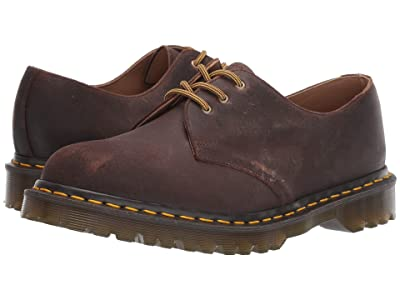Dr. Martens Made In England 1461 Made In England (Mid Brown) Shoes