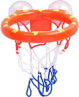 Basketball Toy Hoop,Ball Set Baby Bath Toys Kids Fun Ball Games in Bath Shower Bathtub Shooting Game for Boys Girls Kid To...