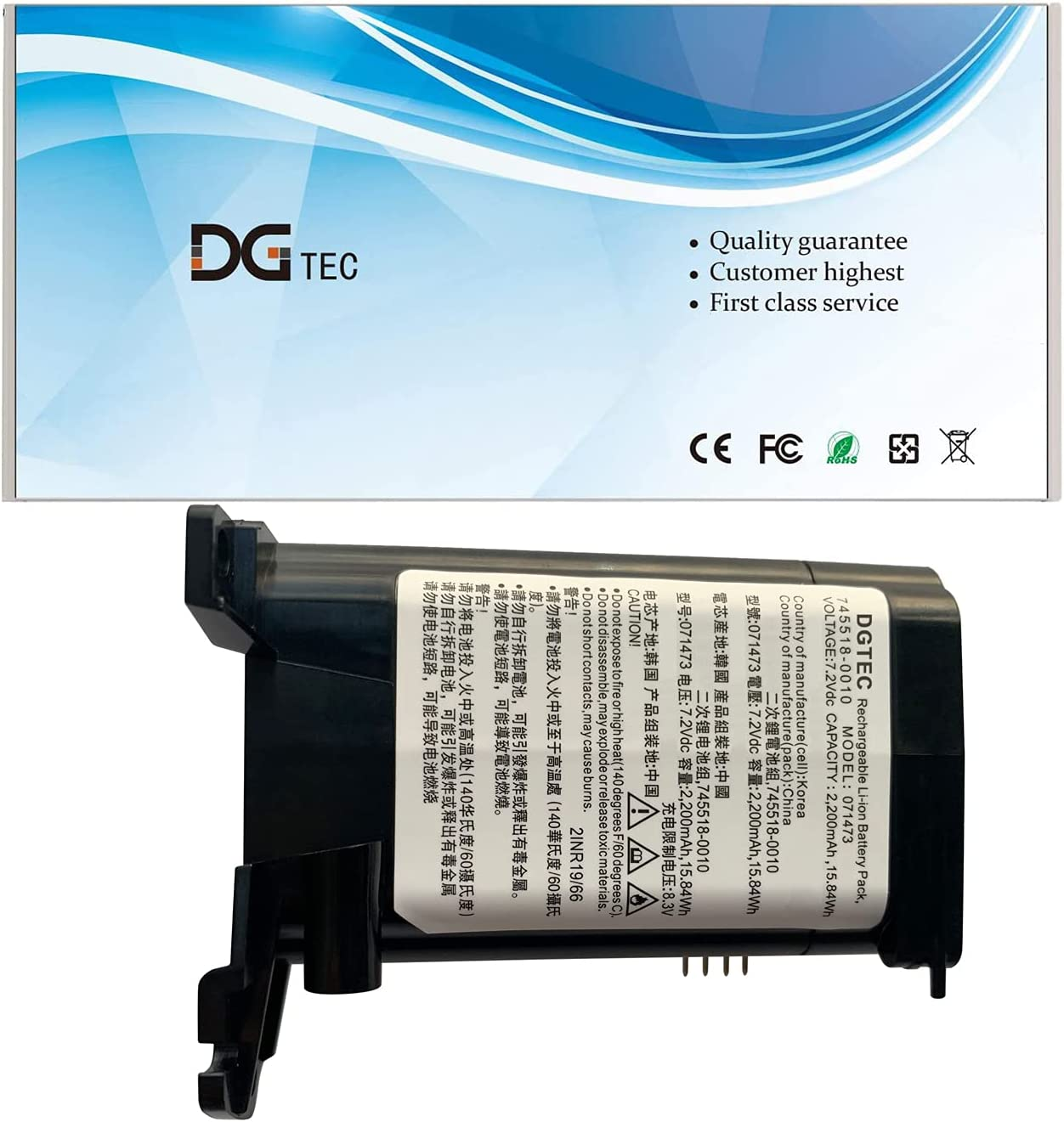 DGTEC 071473 Deluxe Replacement Laptop Battery SoundLink Bose At the price of surprise for Revol