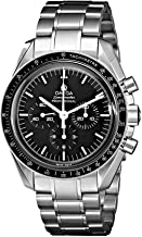 Omega Speedmaster Moonwatch automatic-self-wind mens Watch 48.375.437 (Certified Pre-owned)