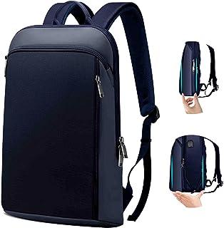 ZINZ Delgado y Expandible Mochila para Portátil Antirrobo Backpack 15 15,6 16 Pulgadas Mochila Negocio Multiusos Bolso para PC de Gran Capacidad para Hombre Mujer Estudiante -Blue