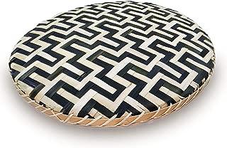 Ann Lee Design Round Serving Trays (Snake Black)
