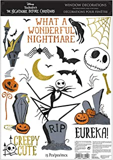 Best jack skellington window cling Reviews