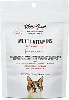 Well & Good Multi Vitamin for Senior Cats, 60 ct