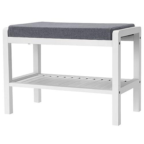 White Bedroom Benches: Amazon.com