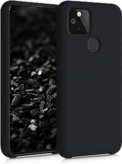 kwmobile Hülle kompatibel mit Google Pixel 5   Handyhülle gummiert   Handy Case in Schwarz