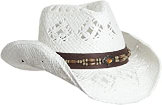 86f8750a32c8b Amazon.com  Whites - Cowboy Hats   Hats   Caps  Clothing