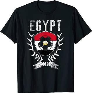 Egyptian Football Cup 2018 T-Shirt - Egypt Soccer Jersey