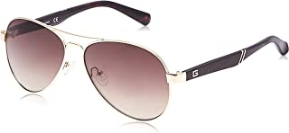 Guess 19307221 Aviator GU6930A Gold/Brown Mirror (GU6930A 32G)