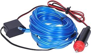 Akozon LED-stripverlichting, 5 m / 16.4ft Auto LED Strip Sigarettenaansteker Drive Lichtgevende Ambient Auto-interieur Lic...
