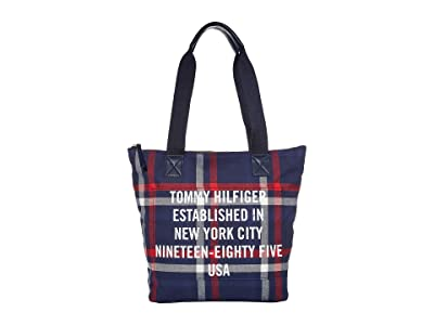 Tommy Hilfiger Bennett Tote (Navy/Multi) Bags