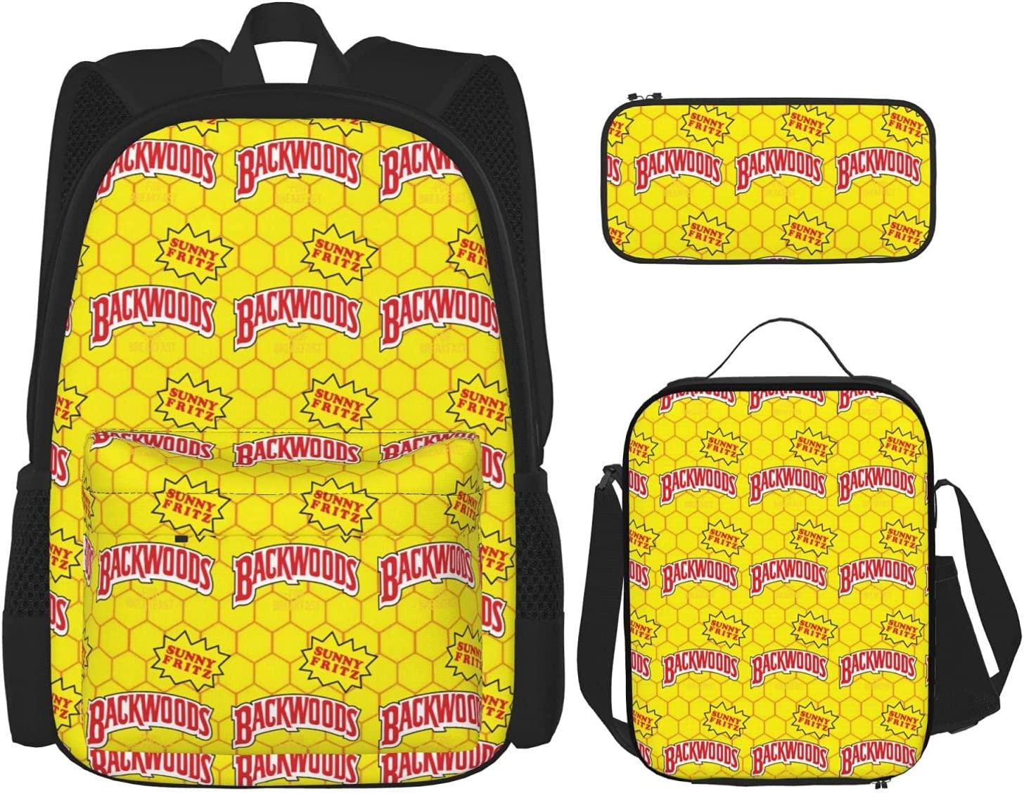 Backwoods Fashion Backpack Messenger Lunch Max 89% OFF Set Bag Pencil Max 65% OFF Ba