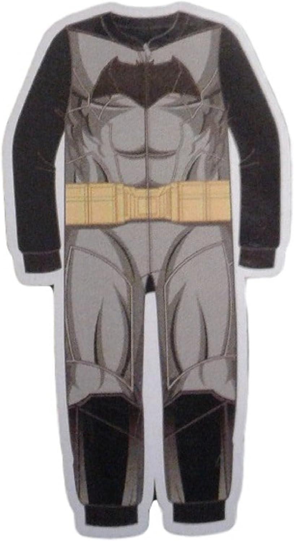 DC Comics Batman Boys' Fleece Sleeper (MD 8, Grey)