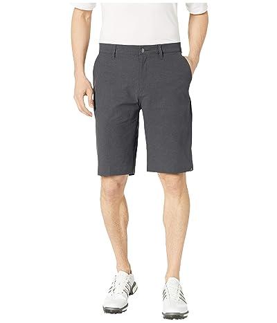 adidas Golf Ultimate365 Modern Herringbone Shorts (Black) Men