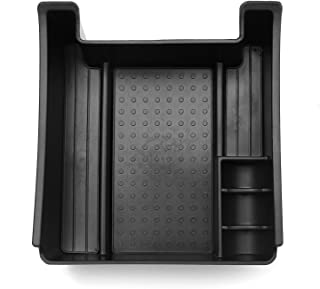 Black Interior Container Armrest Storage Boxes Box for Volvo XC60 2010-2016