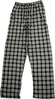 Mens Flannel Elastic Waist Lounge Pajama Sleep Pant,