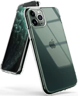 كفر ايفون 11 برو ماكس  iPhone 11 Pro Max رانجيكي فيوجن مقاوم للصدمات ويعمل مع الشحن اللاسلكي - شفاف