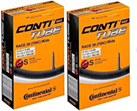Continental Race 28 700×25-32c Bicycle Inner Tubes – 42mm Long Presta Valve..
