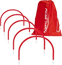 GoSports Pass Thru Soccer Training Arches for Grass - Great for Passing, Footwork and Kicking Drills for All Skill Levels,...