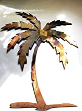 """Palm Tree Metal Wall Art Decor in 12"""", 16"""", 18"""" 20"""", 30"""" and 36"""""""""""