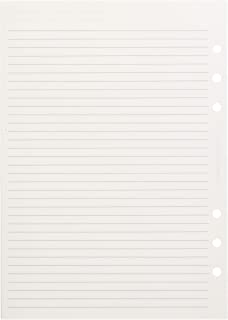 Filofax A5 Ruled Notepaper - White
