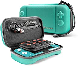 tomtoc Carrying Case for Nintendo Switch Lite, Portable Travel Storage Protective Case with 24 Game Cartridges and Origina...