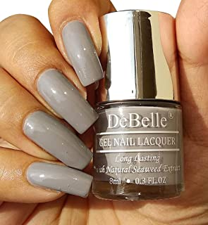 DeBelle Gel Nail Polish Sombre Grey 8ml- (Grey nail polish)