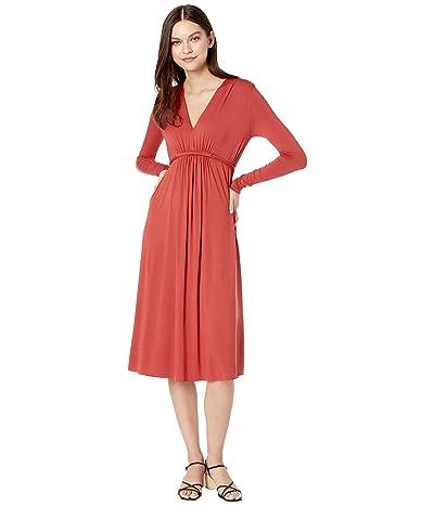 Rachel Pally Jersey Long Sleeve Mid-Length Caftan (Mineral) Women