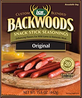 LEM Backwoods Snack Stick Seasoning with Cure Packet