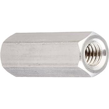Aluminum #4-40 Screw Size Female Hex Standoff 0.25 OD Pack of 1 Clear Iridite 4.25 Length,