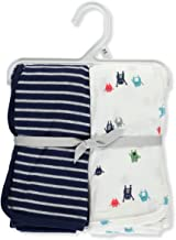 Carter's Baby Boys' 2-Pack Monster Swaddle Blanket One Size
