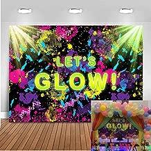 neon backdrop ideas