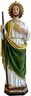 """12"""" Inch Saint St Jude Thaddeus Statue Figurine Catholic Religious Gift Imagen San Judas Tadeo Estatua Regalo Religioso"""