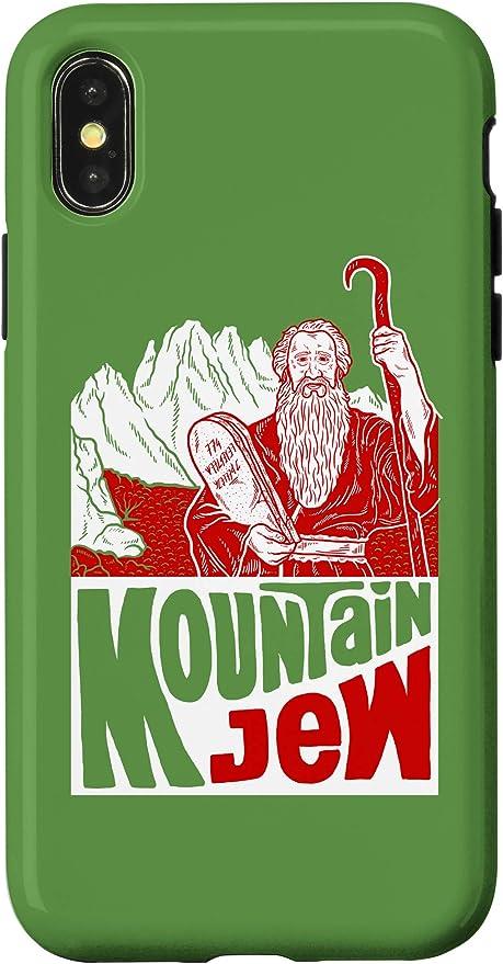 Amazon.com: iPhone 11 Mountain Jew Phone Case Moses Ten ...