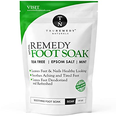 Truremedy Tea Tree Oil Foot Soak with Epsom Salt & Mint