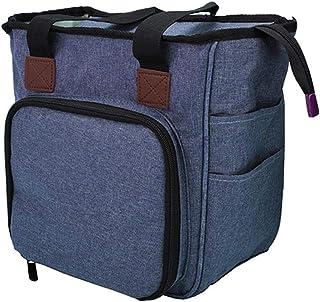MHXY Stockage de Tricot Sac à Tricoter Sac de Rangement de Fil Portable Sac à Dos for Crochets de Laine Crochets à Tricote...