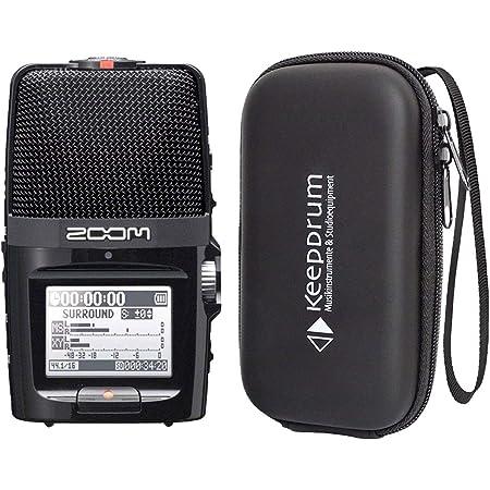 Zoom H2n Handheld Audio Recorder Keepdrum Soft Case Tasche Musikinstrumente