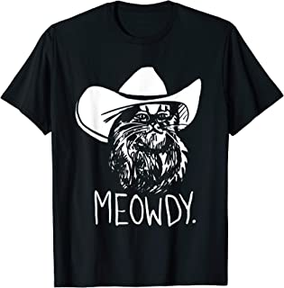 Meowdy Texas Cat Meme T-Shirt