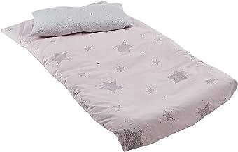 Petitpraia Etoile Rosa Saco Nórdico Cuna 70 - Relleno Incluido - Sacos Para Dormir