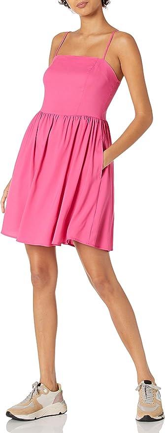 Goodthreads Women's Georgette Smock-Back Cami Mini Dress