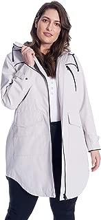 Women's Drawstring Raincoat Plus Size