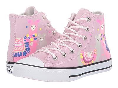 Converse Kids Chuck Taylor All Star Hi (Little Kid/Big Kid) (Cherry Blossom/White/Black) Kid