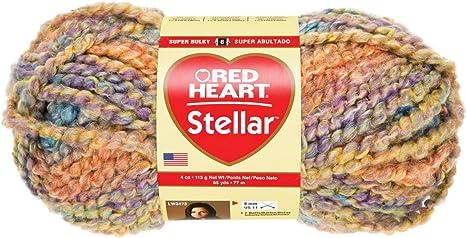 Coats Yarn Red Heart Stellar Yarn Deep Space