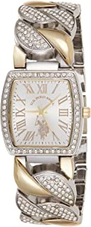U.S. Polo Assn. Women's Quartz Metal and Alloy Watch, Color:Silver-Toned USC40203